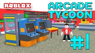 ARCADE TYCOON #1 - VIDEO GAME KING (Roblox Arcade Tycoon)