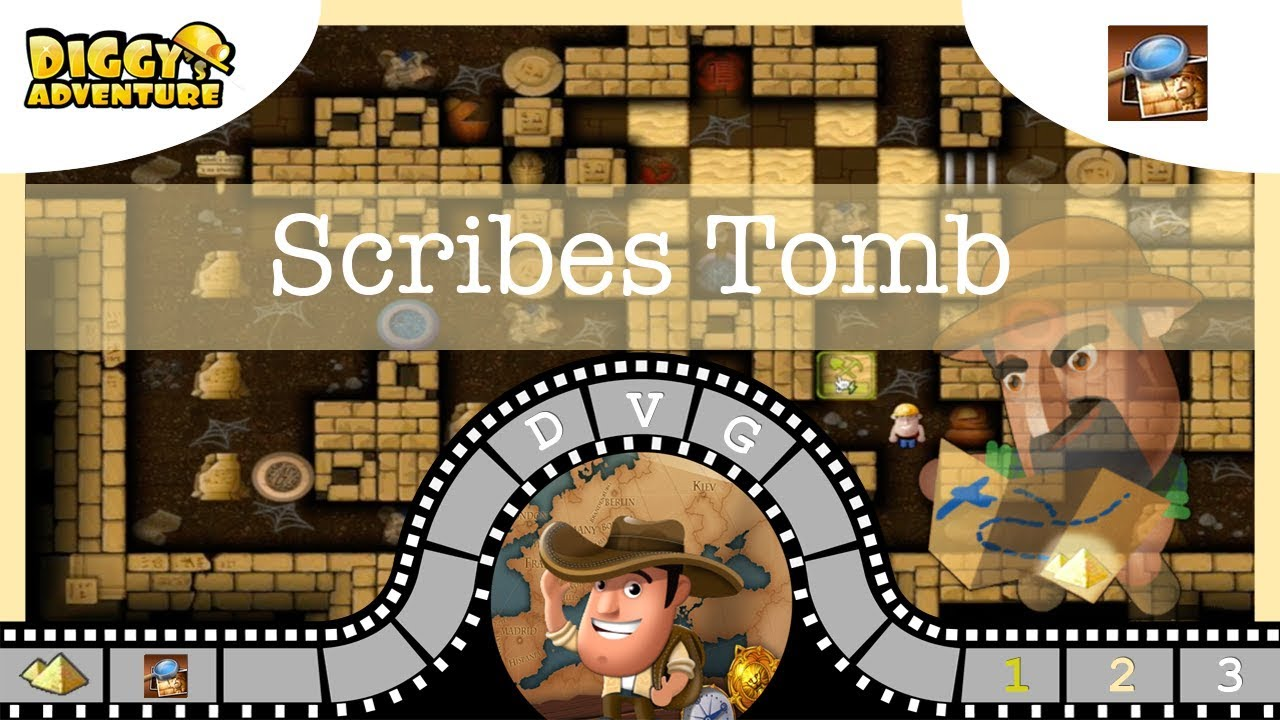 Uncategorized Egypt Puzzle Game egypt father 3 scribes tomb diggys adventure youtube video game