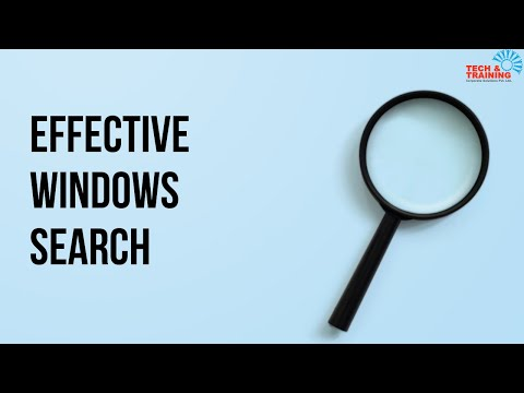 Effective windows search