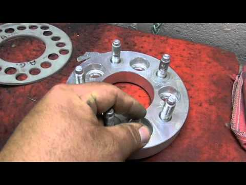 How I Changed My Bolt Pattern