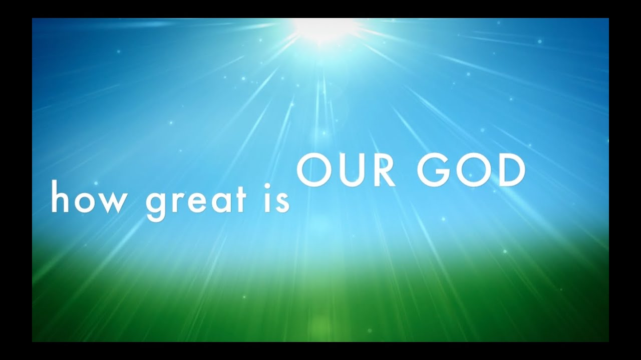 Aiza  |How Great Is Our God Lyrics