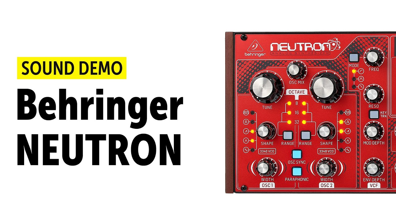 NEUTRON | Synthesizers and Samplers | Keyboards | Behringer