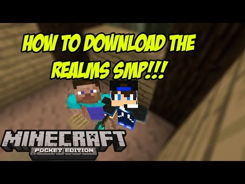 HOW TO DOWNLOAD THE REALMS SMP!!!