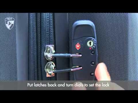 Heys TSA Lock Instructions