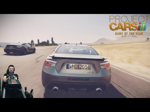 Гонки с подписчиками F1/LMP/DTM/JDM - Project CARS на руле Fanatec CSL Elite