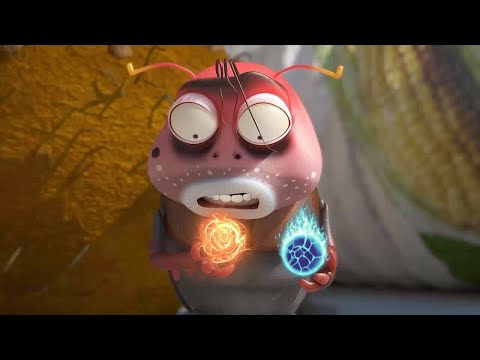 LARVA ❤️ The Best Funny cartoon 2017 HD ► La MARGIC BROWN❤️ The newest compilation 2017 ♪♪ PART 61