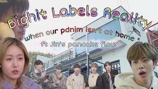 Baixar Ep 1 When our pdnim isn't at home - Bighit Labels Reality [BTS Gfriend TXT fakesub]