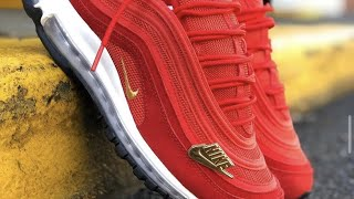The Best Nike Air Max Ever! The Nike Air Max 97 QS in Challenge Red