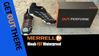 merrell moab fst waterproof glass