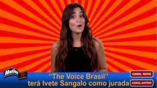 The Voice Brasil: Ivete Sangalo não será jurada e sim Claudia Leitte - Tiago Leifert apresentador