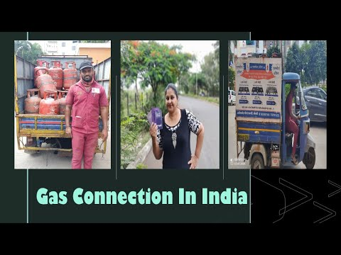 Gas Connection   Gas  in India   ඉන්දියාවේ  ගෑස්