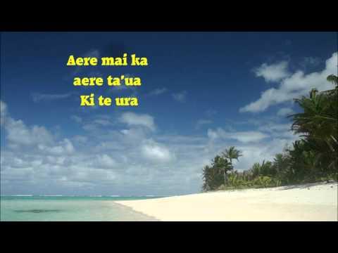 Ua hiti te marama-Enua manea Rarotonga lyrics