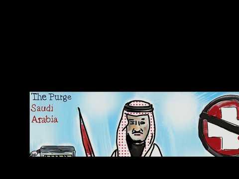Saudi Arabia Arrests. Purge. King Salman. Political Cartoons. #Trump