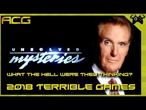 WTF Were They Thinking? Terrible 2018 Games