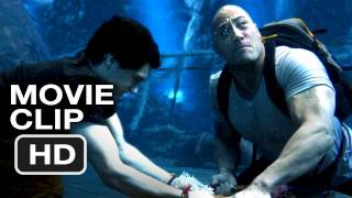 Journey 2: The Mysterious Island #2 CLIP - A GIANT ELECTRIC EEL! - Dwayne Johnson Movie (2012) HD