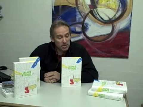 Jasper Fforde at Goldsboro Books