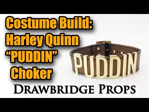 Harley Quinn PUDDIN Necklace: Costume Build