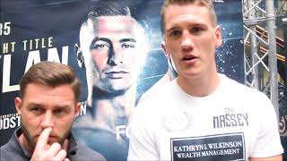 JACK MASSEY AND ROBERT RIMMER DISCUSS WEIGH IN AND RETURN TO THE RING SATURDAY NIGHT