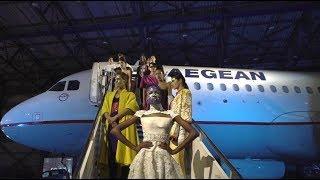 "Hautes Grecians 2018 Fashion Show @ AEGEAN Technical Base, Athens Airport ""Eleftherios Venizelos"""