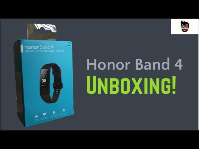 Honor Band 4 Unboxing!