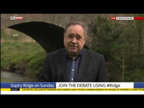 GE2017: Alex Salmond - the election is about opposing the Tories, the single market and independence