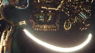 The Dubai Fountain show from