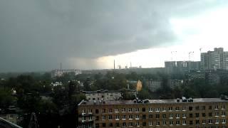 Гроза в Питере thunderstorm in St. Petersburg