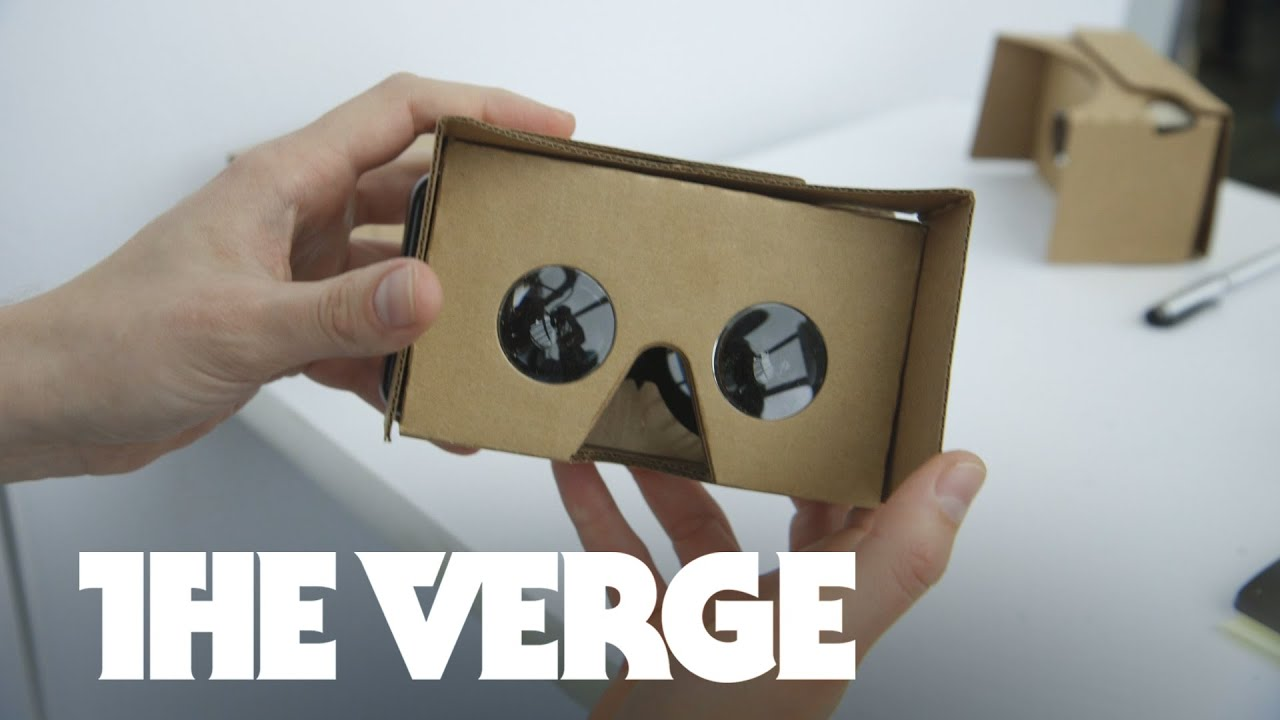 I just tried Google's new Cardboard with my iPhone - The Verge