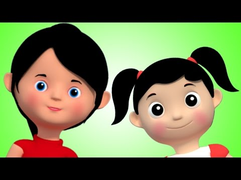 miss polly had a dolly 3d rhymes nursery rhyme Kids Tv