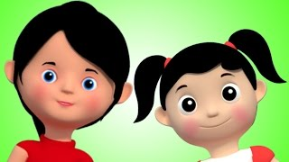 Kids TV Nursery Rhymes - Miss Polly Had A Dolly | 3D Rhymes From Kids TV