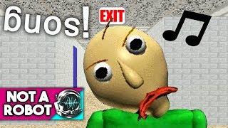 """BALDI'S BASICS SONG """"DON'T WANNA LEARN"""" by Not a Robot [Vocaloid Original]"""