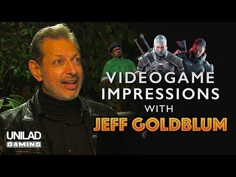 Jeff Goldblum Does Video Game Impressions  UNILAD Gaming