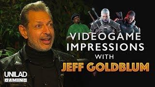 Jeff Goldblum Does Video Game Impressions - UNILAD Gaming