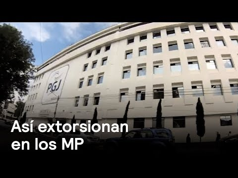 Agente del Ministerio Público extorsiona a víctima de robo - Despierta con Loret