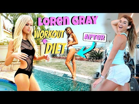 Trying Loren Gray's Workout & Diet For a Week!