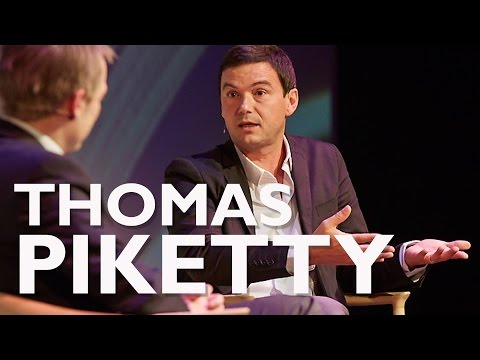 Thomas Piketty - International Authors' Stage - The Black Di