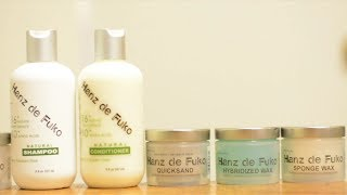 Mens Hair - Hanz de Fuko: Product Lineup