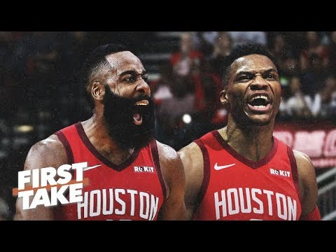 Are James Harden & Russell Westbrook a top duo in the NBA?   First Take