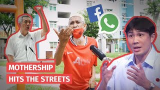 Singapore GE2020: Where do old people get election updates from? | Mothership Hits The Streets