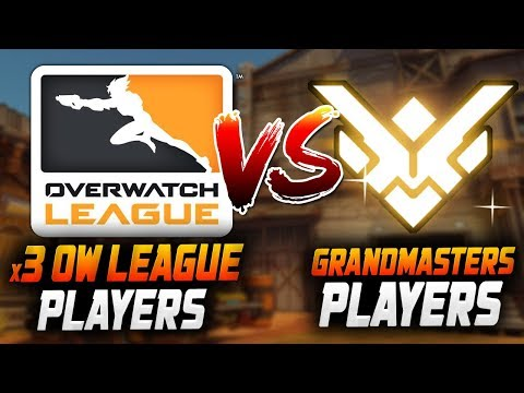 NY Excelsior OW League Players VS Grandmasters! [ OVERWATCH SEASON 14 TOP 500 ] thumbnail