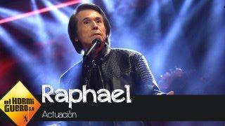 Raphael canta en directo en