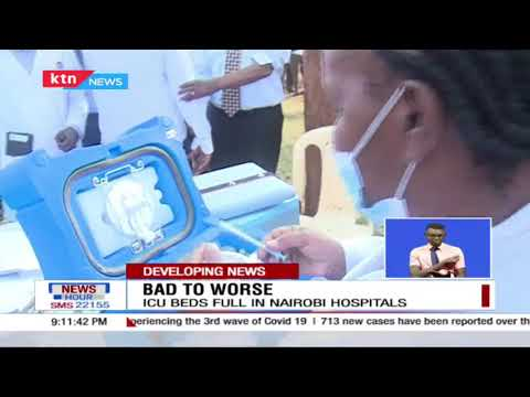 ICU beds in Nairobi medical facilities fully occupied according to the ministry of health