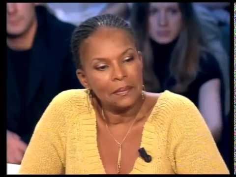 Christiane Taubira - On n'est pas couché 24 février 2007 #ONPC