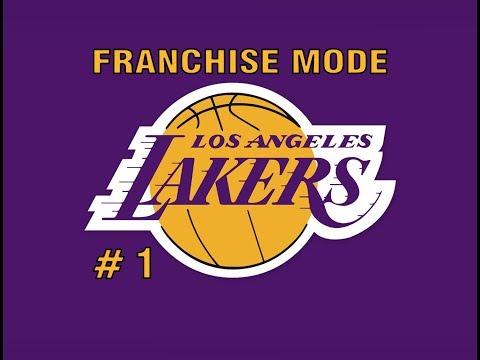 NBA Live 18 || Franchise Mode || Episode 1