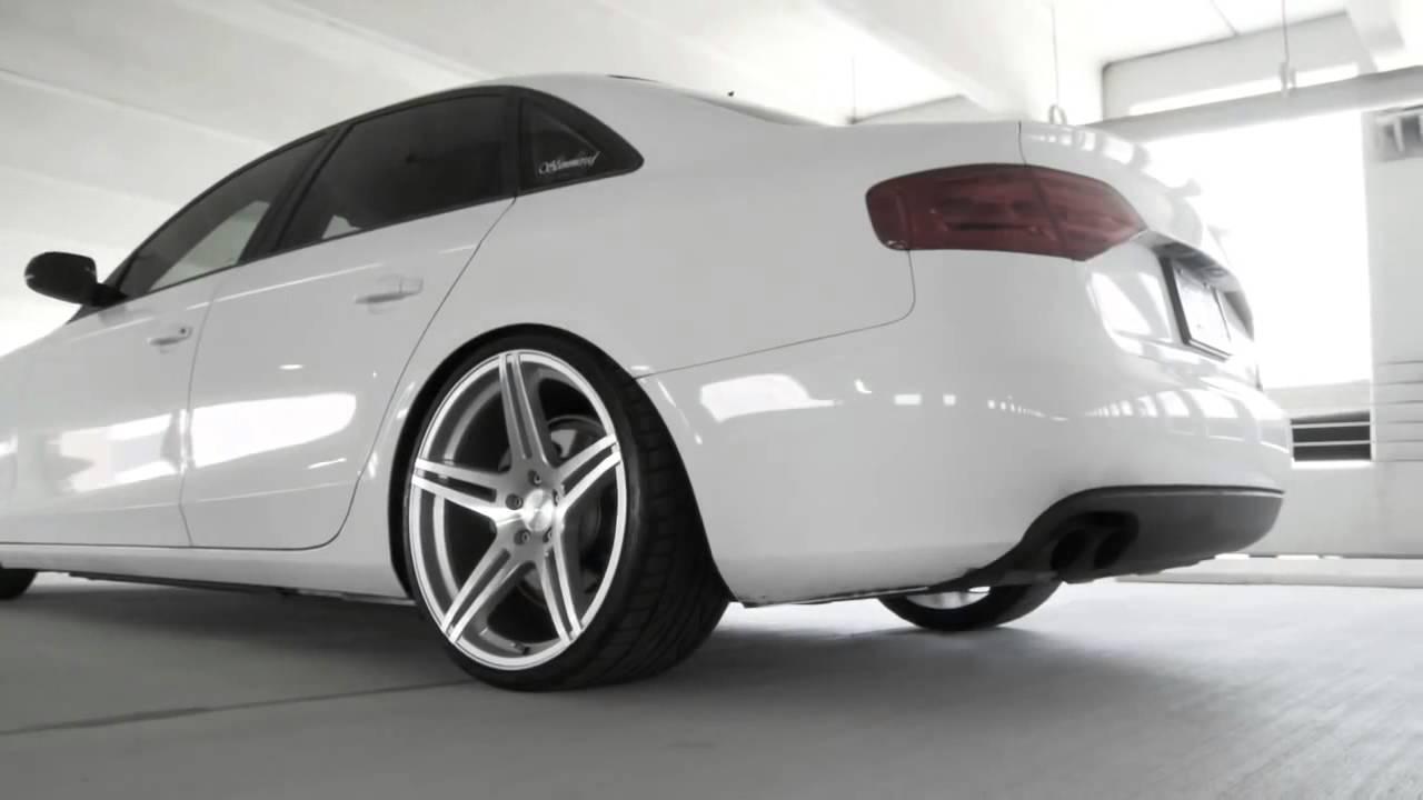 Slammered B8 Audi A4 w 20' Incurve IC S5 Deep Concave ...