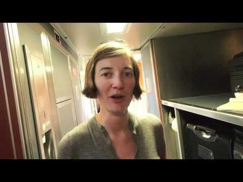 Amtrak Sleeper Car / Roomette: Coast Starlight - PathLessPedaled.com