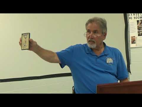 Repousses by George Mavrelos - Wilmington Coin Club - Numismatics with Kenny - September 2017
