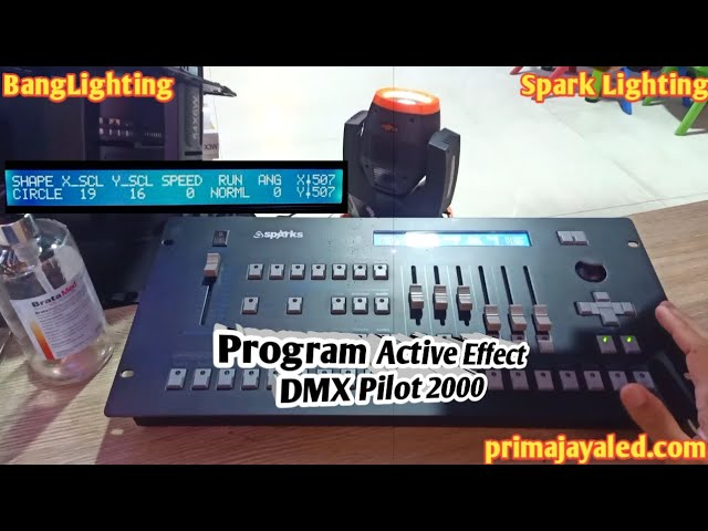 Program Active Effect DMX Pilot 2000