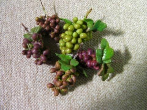 Como hacer un racimo de uvas youtube - Como preparar unas judias verdes ...