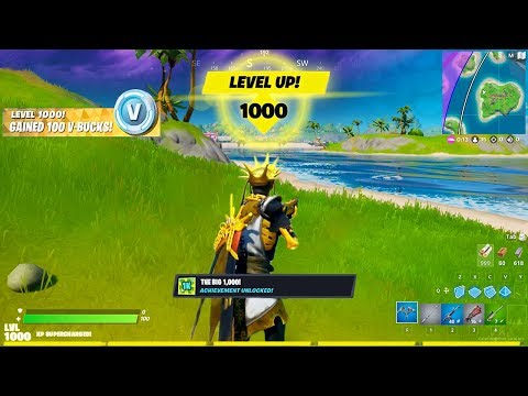I Unlocked LEVEL 1,000 In Fortnite.. And GOT THIS!